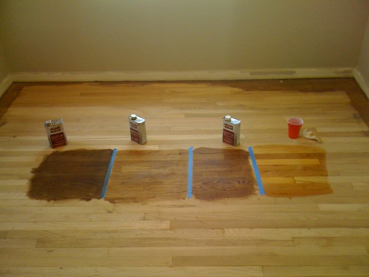 Cost to stain hardwood floors