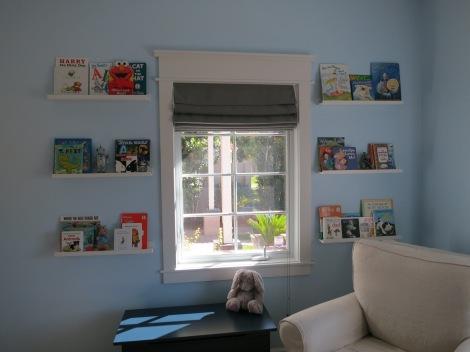 Book shelf wall