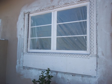 Window installation and framing