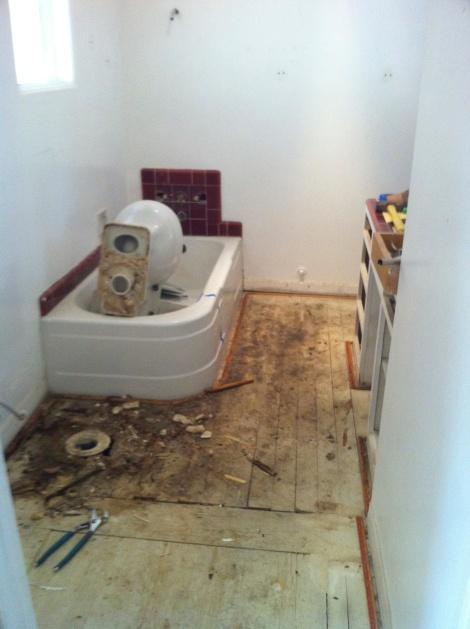 Bathroom demo