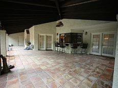 Before: Back Patio