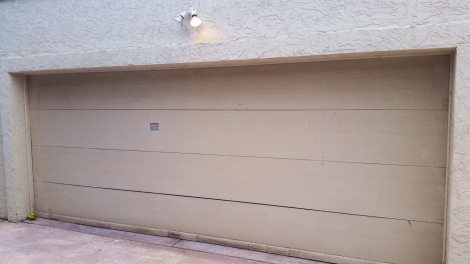 Attached Garage Before