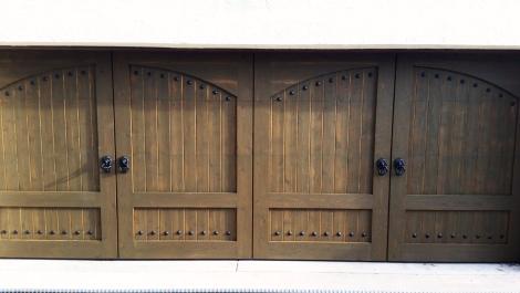 Attached Garage Door After