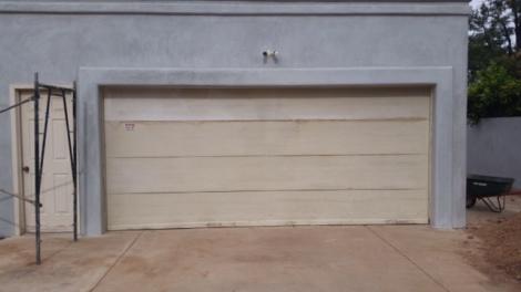 Detached Garage Before